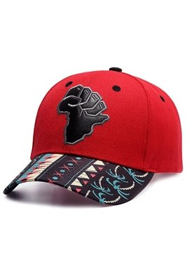 Fashion Geometric Appliques Baseball Caps Adjustable Breathable Snapback Headwear Outdoor Trucker Hats Dad Hats Summer Sun Hat