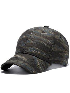 Casual Unisex Camouflage Baseball Caps Adjustable Breathable Snapback Headwear Outdoor Trucker Hats Dad Hats