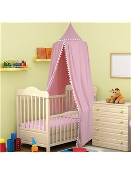 Children's Room Decoration Tents Dome Children's Bed Curtains Pink Indoor Play House Bed Nets