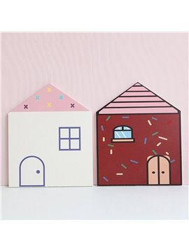 Creative Wall Decoration Small House Hot Air Balloon Three-dimensional Wall Stickers for Girls Boys Bedroom Living Room Study Room