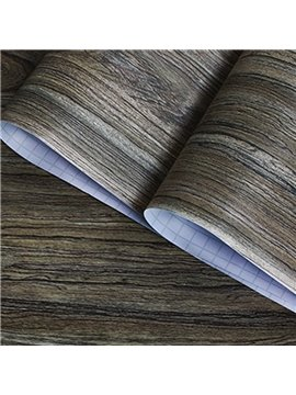 3D Wood Peel And Stick Wall Paper Wall Stickers Removable Wall Murals Self Adhesive Decor Roll 19.6FT