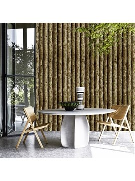 3D Simulation Wood Peel and Stick Wall Murals Removable Wallpaper Vinyl Self Adhesive Decor 19.6FT