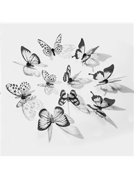 3D Butterfly Wall Stickers Art Decals Home Room Decorations Décor Living Room Decal Home Decor