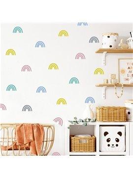 Boho Style Rainbow Wall Stickers Decals | Kids Room Playroom Nursery Decor