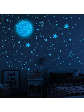 1049pcs Glow In The Dark Luminous Stars Moon Wall Stickers Space Kid Ceiling Decal Bedroom Decor