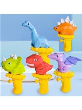New Cartoon Tyrannosaurus Rex Water Gun Toy Dinosaur Children Summer Beach Play Water Press Water Gun