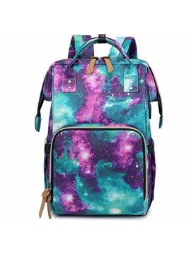 Nylon Waterproof Backpack Bag Nappy Bags