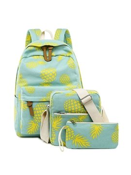 School Backpack for Girls and Boys Cute Schoolbag Laptop backpack set
