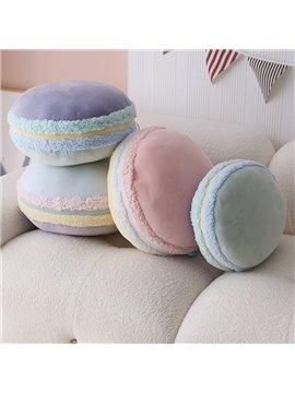 Macaron Throw Pillow Cartoon Food Shape Pillow Sofa Cushion Cute pillow