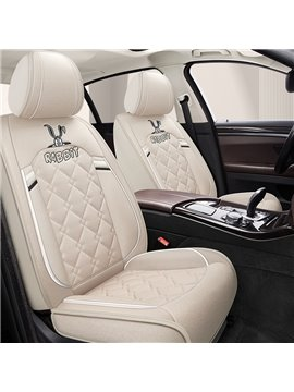 PU Animal Cotton Seat Cover Universal Fit Seat Covers Lovely Design For Girls Durable Unfading Material Universal Fit Seat Covers