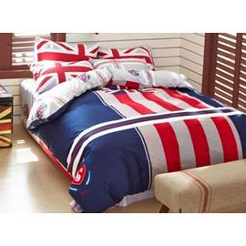 Fashion the Union Jack 4-Piece Duvet Cover Sets