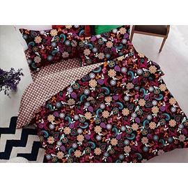Fancy Elegant Floret 4-Piece Polyester Duvet Cover Sets