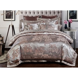 Royal Exquisite Jacquard 4-Piece Duvet Cover Sets