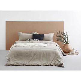 Luxurious Super Cozy Washed Linen 4-Piece Duvet Cover Sets