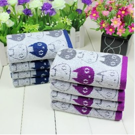 New Arrival Comfortable Skin Care Lovely Elf Print Soft Children Towel