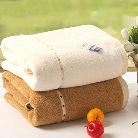 New Arrival 100%Cotton Multi-functional  Pure Color Bath Towel