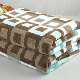 Unique Fashion Geometric Figure  Full Cotton Bath Towel