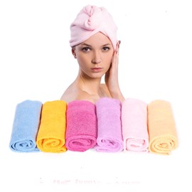 Thicken Water Absorption Quick-Dry Hair Towel