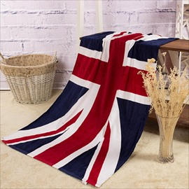 Novel Fashion the UK Flag Pattern Bath Towels