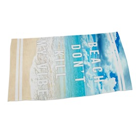 Peace Beach 3D Printing Square Beach Towel & Bath Towel
