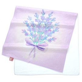 Watercolor Romantic a Bunch Lavender Watercolor Printing Face & Hand Towel