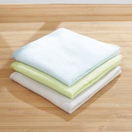 Plain Pattern Soft Cotton Square Shape Children Face&Hand Towel