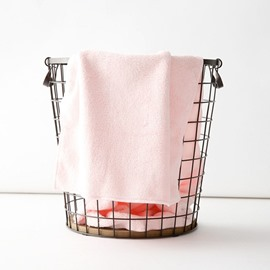 Japanese Style Quick-Dry Modern Style Plain Pattern Towel