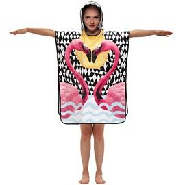 Breathable Warm Child Cartoon Hooded Bath Towels