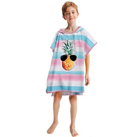 Soft & Absorbent Kids Hooded Bath/Pool/Beach Towel