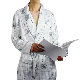 Top Selling Concise Cotton Long Sleeve Customization Men's Bathrobe