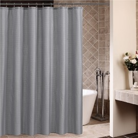 High Quality Gray Squares Design Shower Curtain