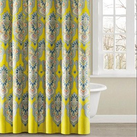Graceful Magnificent Jacquard High Quality Polyester Shower Curtain