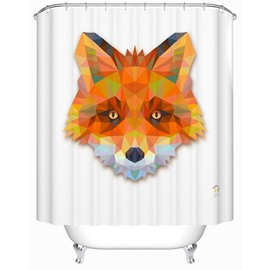 Gorgeous Stylish 3D Prismatic Fox Shower Curtain