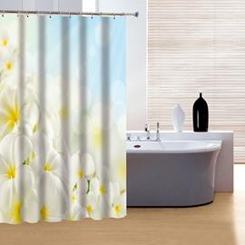 Glamerous Fancy Flower Sea Print 3D Shower Curtain