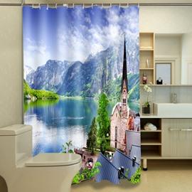 Excellent Natural Beauty Print 3D Shower Curtain