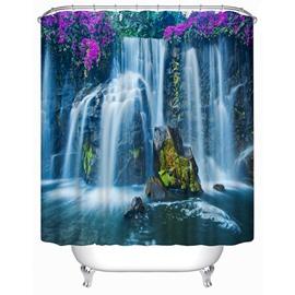 Spectacular Waterfall Print 3D Shower Curtain