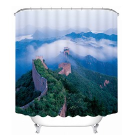 The Beautiful Great Wall Print 3D Bathroom Shower Curtain