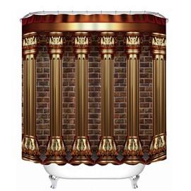 European Style Roman Column Print 3D Bathroom Shower Curtain