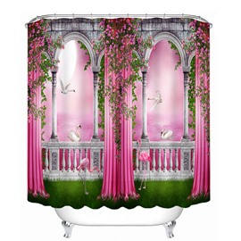 Magic World Printing Bathroom Decor 3D Shower Curtain