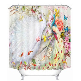 Sunny Flower Field Bathroom Waterproof 3D Printed Shower Curtain