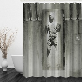 Individuality 3D Printed Bathroom Waterproof Shower Curtain