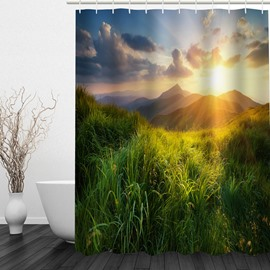 Beautiful Nature Scenery 3D Printed Bathroom Decoration Shower Curtain