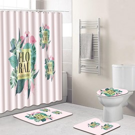 Eco-Friendly Feature Animal Pattern PVC Material Shower Curtains