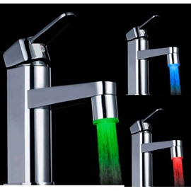 Unique Seven Colors Quick Flashing Kitchen/Bathroom Faucet