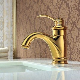 New Arrival High Quality Appealing Gold Bathroom Sink Faucet