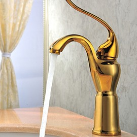 New Arrival High Quality Unique Gold Bathroom Sink Faucet