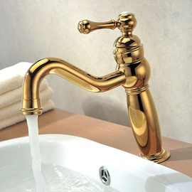New Arrival Top Selling Gold Bathroom Sink Faucet