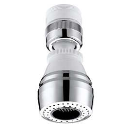 Contemporary Simple Style Water Saving Filter Faucet Head