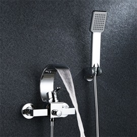Floor Brass Stainless Steel Zinc Alloy Bathtub Faucet