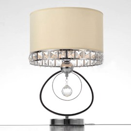 Post Modern Iron Art with 1 Light Crystal Table Lamps